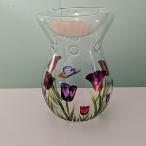 Other - Floral Candle Holder